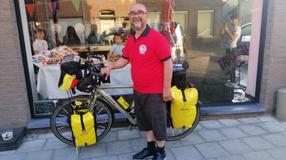 Kayserili gurbetçi pahalı uçak biletine çareyi buldu: Bisikletle gidecek